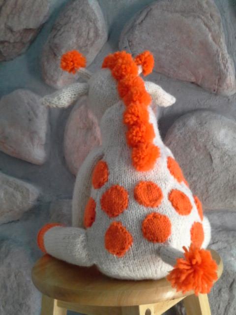 tricot dos girafe Nolan cadeau