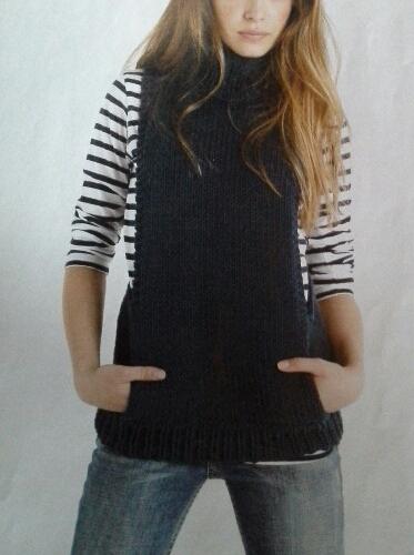 tricot à Laurie janvier 2015